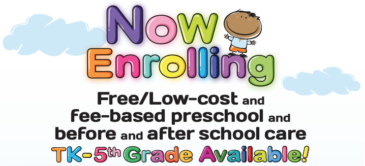 Now Enrolling Students - Informational Flyer