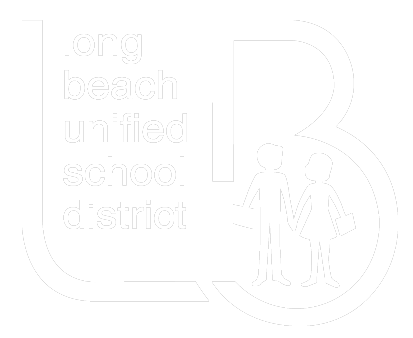 LBUSD Logo - White with Transparent Background