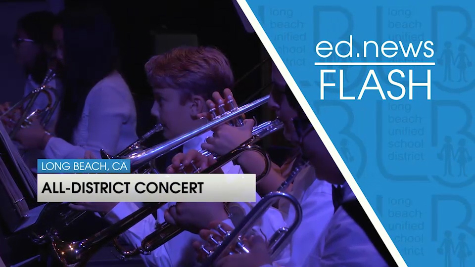 ed.news Flash - All-District Instrumental Concert [HD] - Video