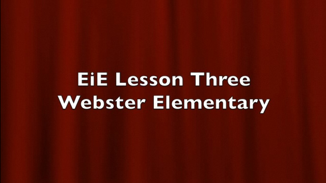BTSA EIE - Lesson 3 Classroom Example - Video