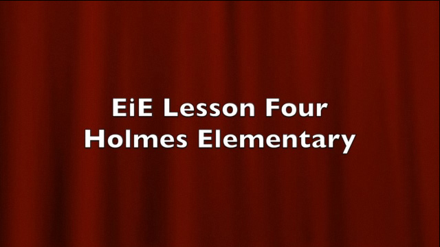 BTSA EIE - Lesson 4 Classroom Example - Video
