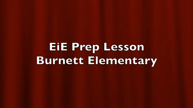 BTSA EIE - Prep Lesson Classroom Example - Video