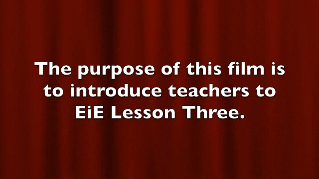 BTSA EIE - Training Lesson 3 - Video
