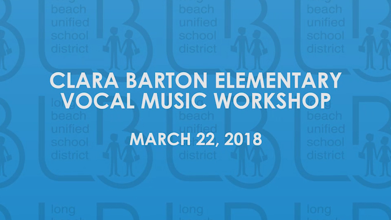 Barton Vocal Music Workshop [HD] - Video