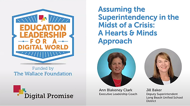 Assuming the Superintendency in the Midst of a Crisis: A Hearts & Minds Approach - Video