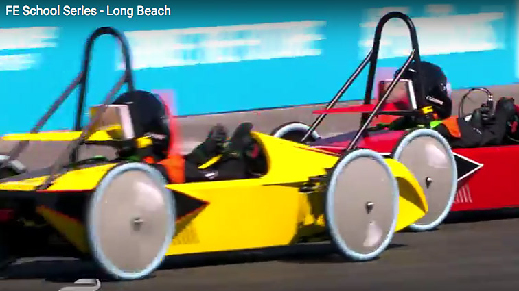 Formula E School Series - Long Beach - Video