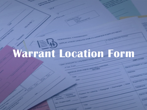 Warrant Location Form - Video
