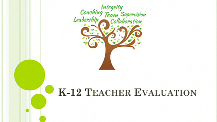 K-12 Teacher Evaluation - Video