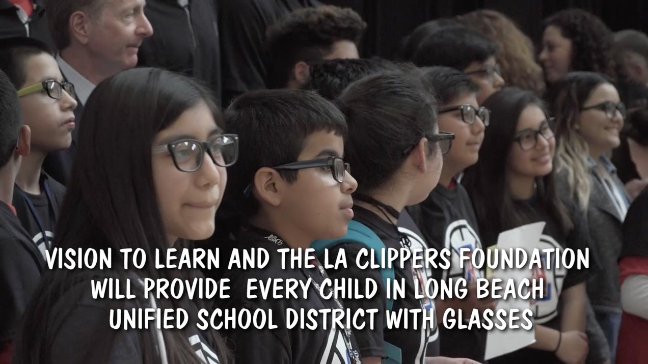 Vision to Learn - Clippers Visit Washington - Video