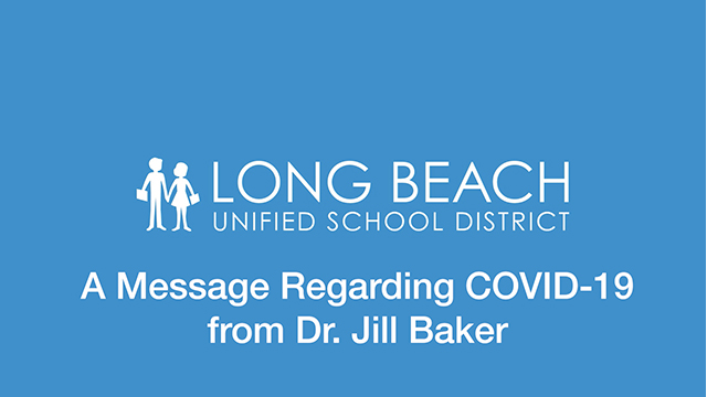 A Message Regarding Covid-19 from Jill Baker, Ed.D. - Video