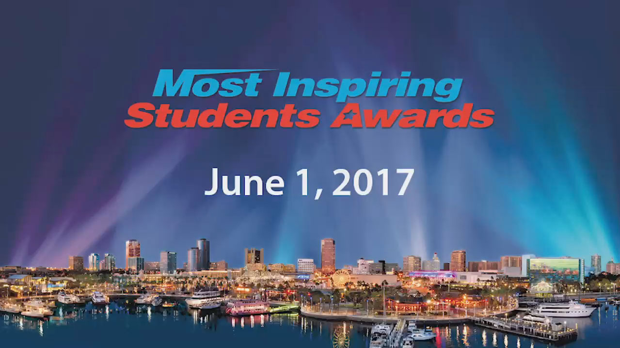 2017 Most Inspiring Student Awards [HD] - Video