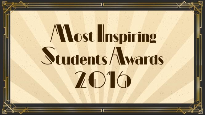 Most Inspiring Student Awards 2016 - Video