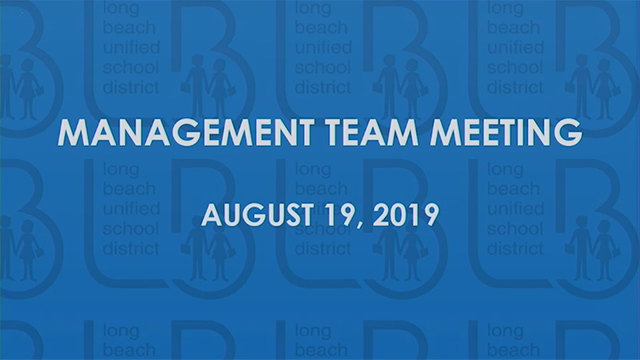 Management Team Meeting 2019 - Video