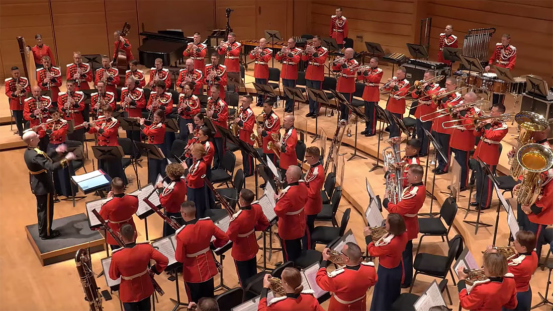 U.S. Marine Band National Tour Concert: Long Beach, CA - Video