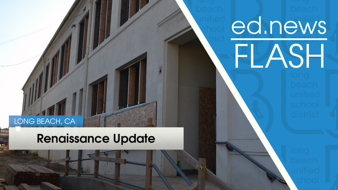 ed.news Flash - Renaissance Construction Update  - Video