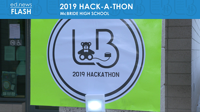 ed.news Flash - 2019 Hack-A-Thon - Video