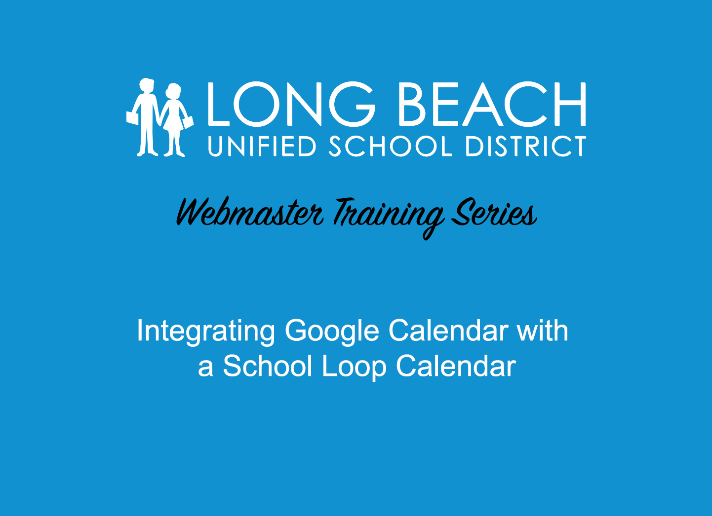 SLS2 - Integrating Google Calendar with School Loop Calendar - Video