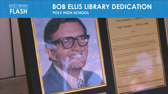 ed.news Flash - Bob Ellis Library Dedication [HD] - Video