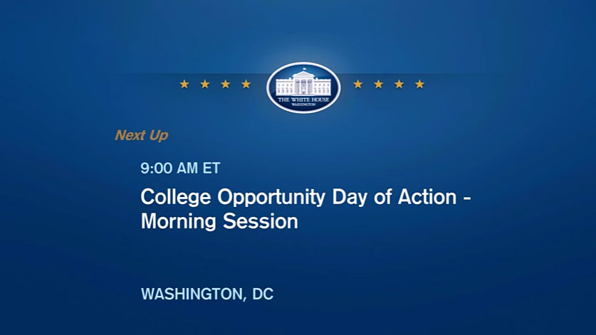 College Opportunity Day of Action - Video