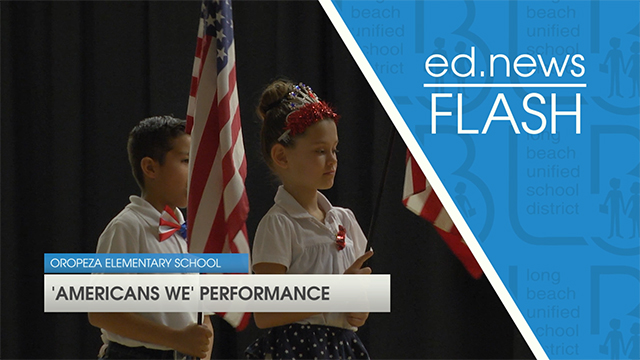 ed.news Flash - Americans We Performance  - Video