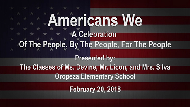 Americans We - A Celebration [HD] - Video