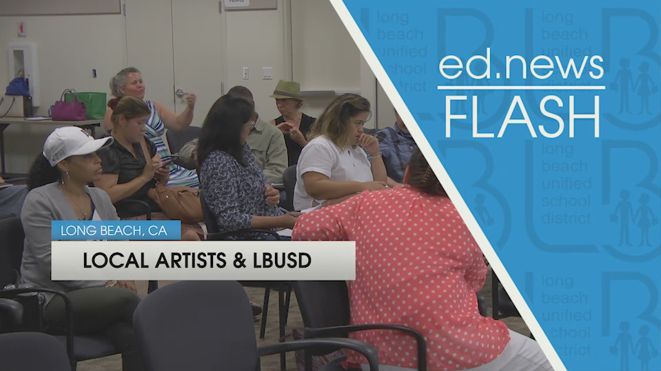 ed.news Flash - Local Artists in Long Beach [HD] - Video