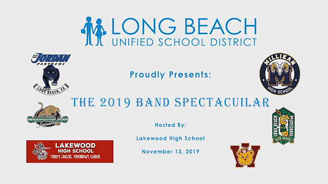 2019 Band Spectacular - Video