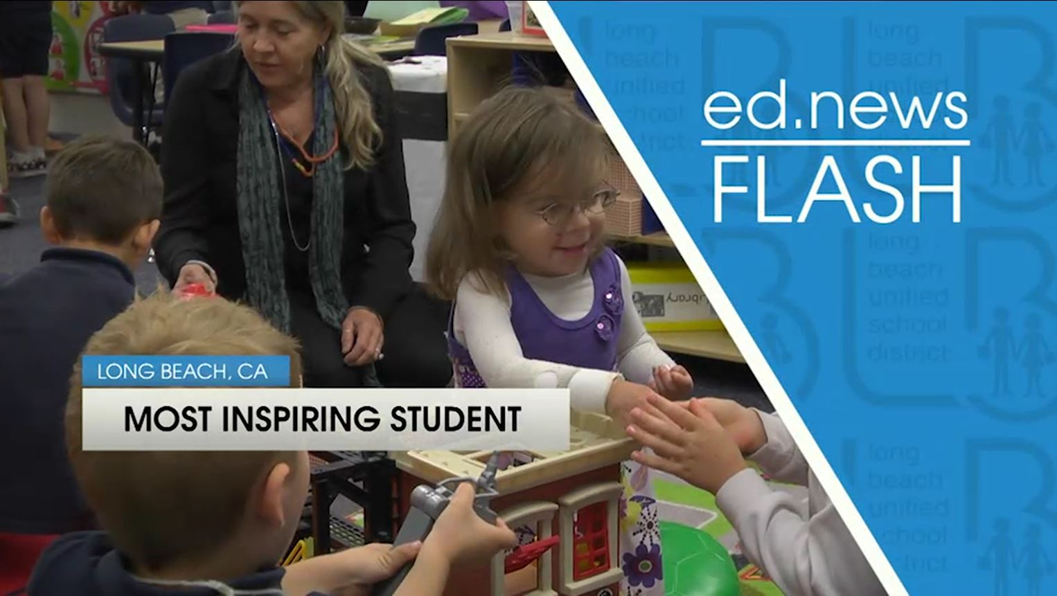 ed.news Flash - Most Inspiring Student: Clara Bodan [HD] - Video