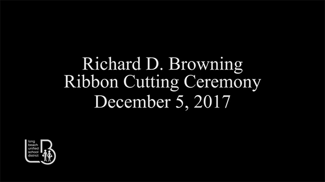 Browning High School Ribbon Cutting Ceremony [HD] - Video