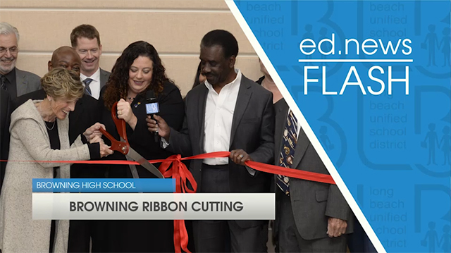 ed.news Flash - Browning Ribbon Cutting Ceremony [HD] - Video
