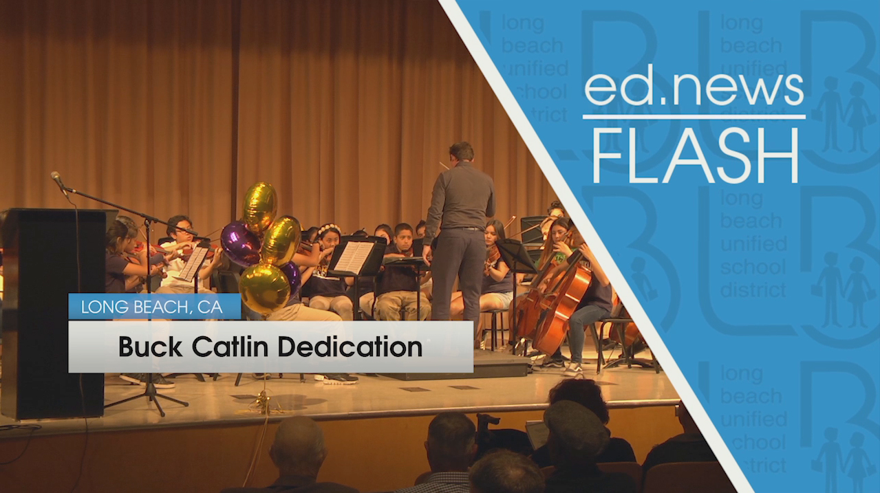 ed.news Flash - Buck Catlin Dedication [HD] - Video