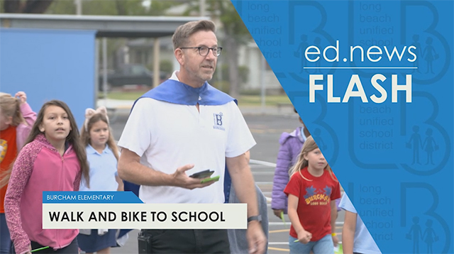 ed.news Flash - Walk and Bike To School  - Video