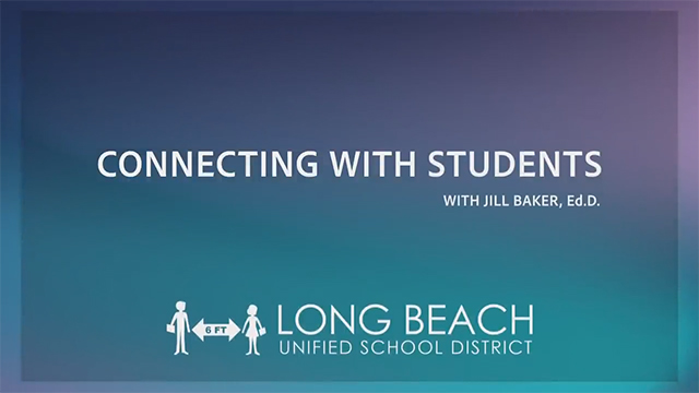 Connecting With Students - Dr. Jill Baker - Video