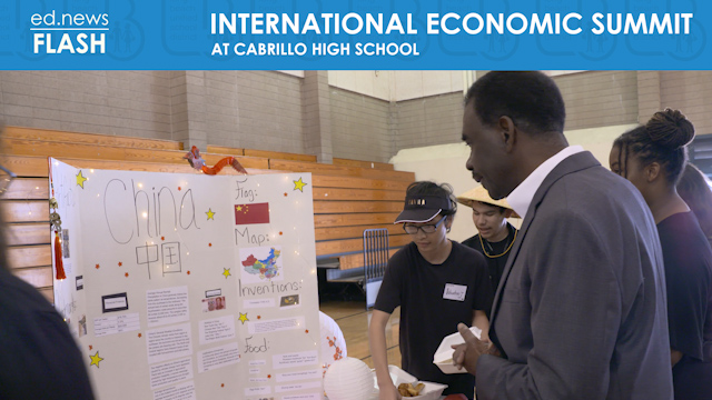 ed.news Flash - Cabrillo Economic Summit - Video