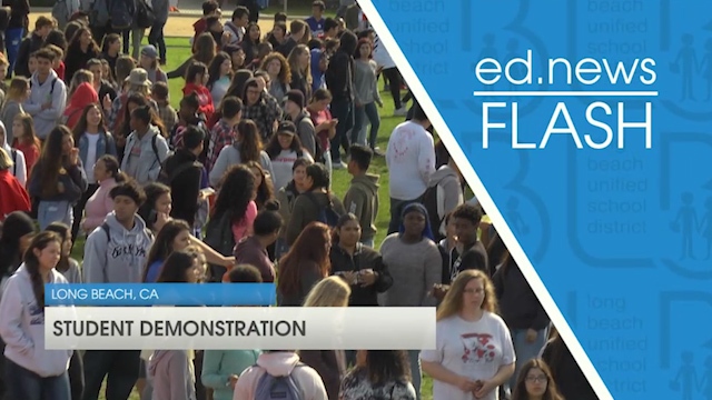 ed.news Flash - Student Demonstrations  - Video