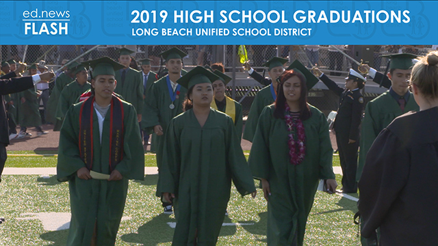 Graduation video start screen