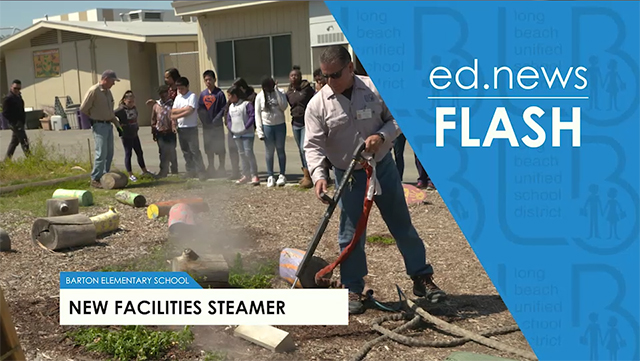 ed.news Flash - New Facilities Steamer [HD] - Video
