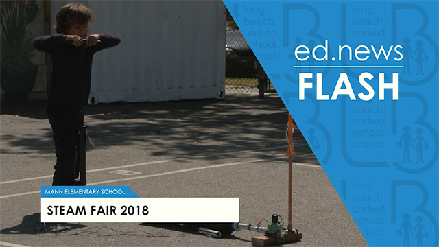 ed.news Flash - Mann STEAM Fair 2018 - Video