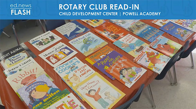 ed.news Flash - Rotary Club Read-In 2019 - Video