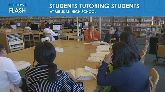 ed.news Flash - Students Tutoring Students - Video