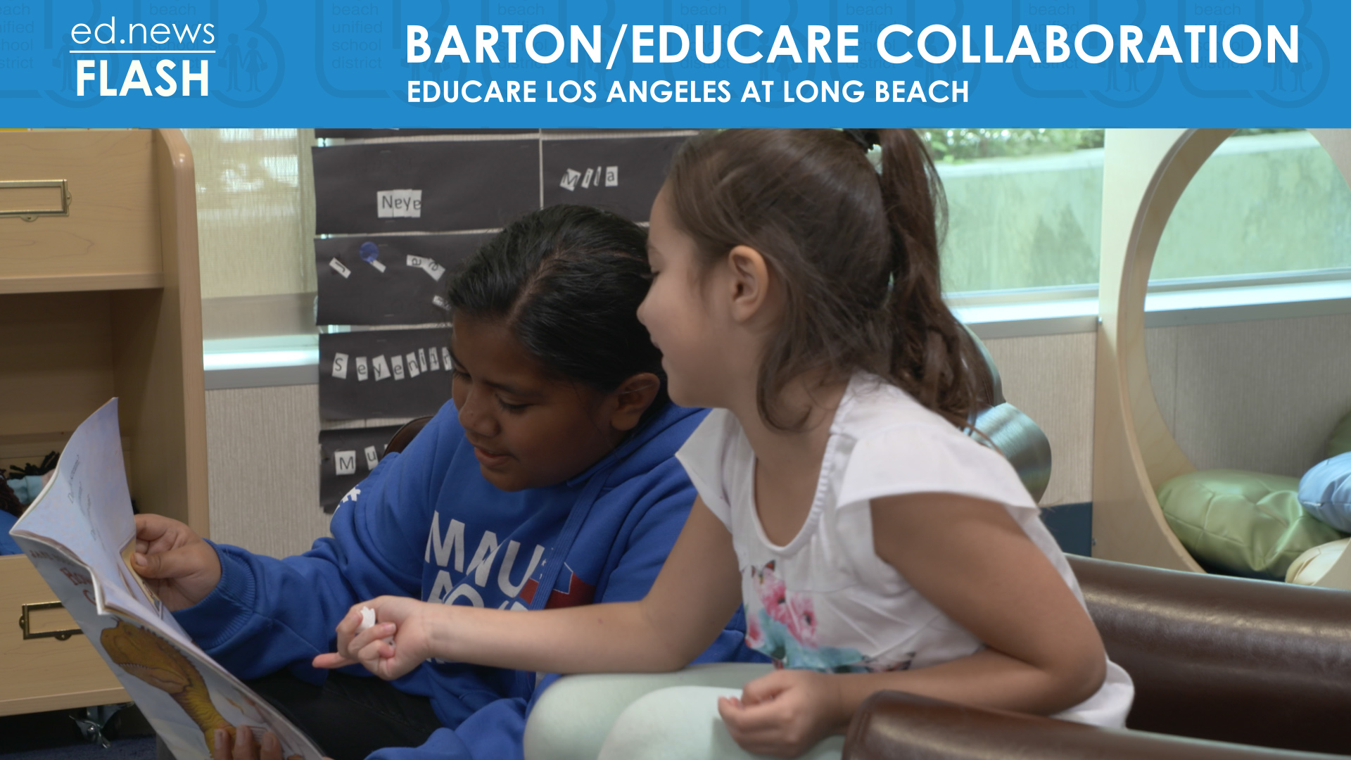 ed.news Flash - Barton / Educare Collaboration - Video