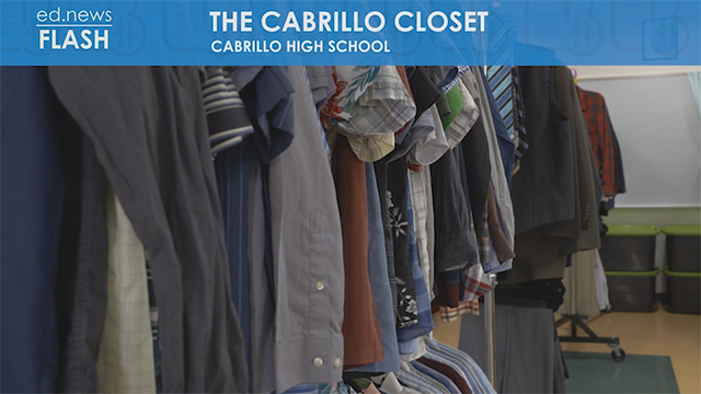 ed.news Flash - Cabrillo Closet - Video