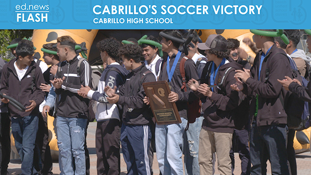 ed.news Flash - Cabrillo High School Soccer Victory - Video