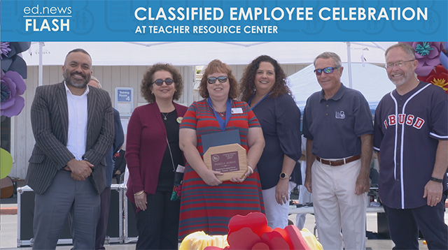 ed.news Flash - 2019 Classified Employee Celebration - Video