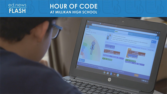 ed.news Flash - Hour of Code - Video
