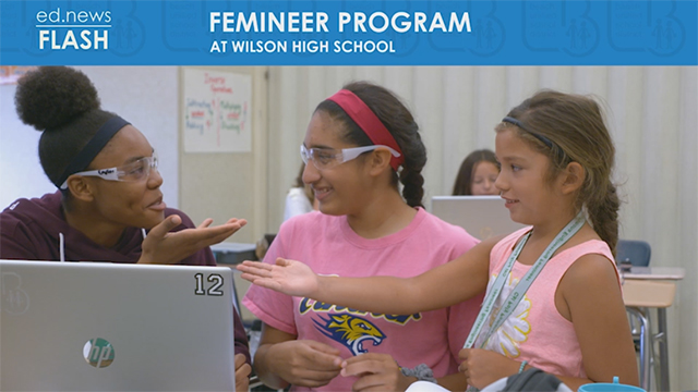 ed.news Flash - Femineer Program - Video