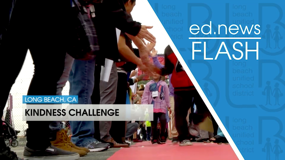 ed.news Flash - Kindness Challenge [HD] - Video