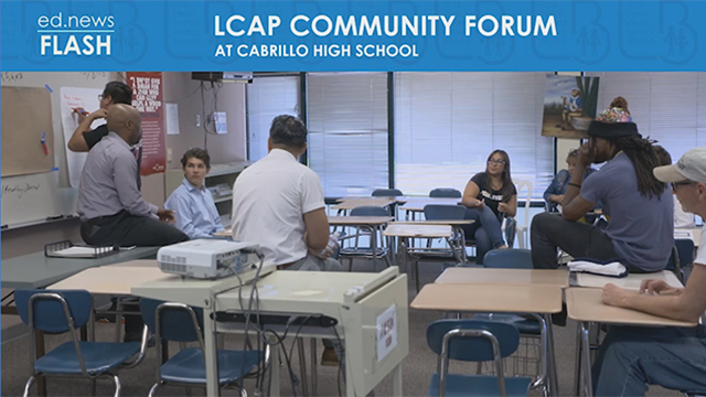 ed.news Flash - LCAP Community Forum - Video