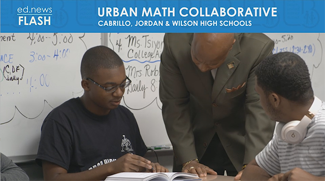 ed.news Flash - Urban Math Collaborative - Video