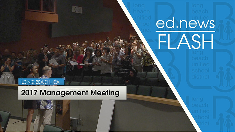 ed.news Flash - Superintendent's Management Team Meeting 2017 [HD] - Video